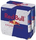 Red Bull Energy Drink 6x25 cl inkl. Pant