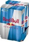 Red Bull Sockerfri 4x25 cl inkl. Pant