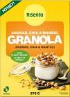 Risenta Ananas, Chia & Mandel Granola 375 g