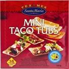 Santa Maria Mini Taco Tubs 120 g