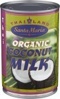Santa Maria Organic Coconut Milk 400 ml