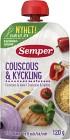 Semper Ätklar Couscous & Kyckling 6M 120 g