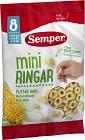 Semper Miniringar Puffad Majs 8M 20 g