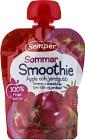Semper Sommar Smoothie Äpple och Jordgubb 6M 90 g