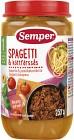 Semper Spagetti & Köttfärssås 12M 235 g