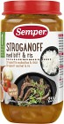 Semper Stroganoff med Biff & Ris 12M 235 g