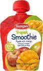 Semper Tropisk Smoothie Äpple och Mango 6M 90 g