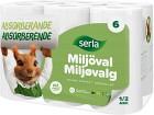 Serla Hushållspapper Classic Miljöval 6 p