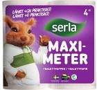 Serla Toalettpapper Maximeter 4 p