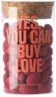 Simply Chocolate Love Glass - Yes, You Can Buy Love. Glasburk 280 g