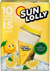 Sun Lolly Isglass Citron 10 p