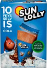 Sun Lolly Isglass Cola 10 p