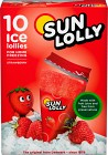 Sun Lolly Isglass Jordgubb 10 p