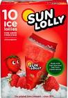 Sun Lolly Isglass Jordgubb 10 p