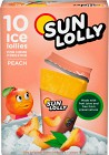 Sun Lolly Isglass Persika 10 p