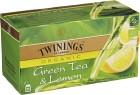 Twinings Grönt Te & Citron 25 p