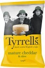 Tyrrells Chips Mature Cheddar & Chive 150 g
