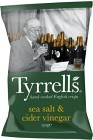 Tyrrells Chips Sea Salt & Cider Vinegar 150 g