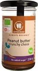Urtekram Peanut Butter Crunchy Choco 200 g
