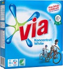 Via Tvättmedel Koncentrat White Pulver 750 g
