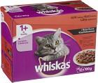 Whiskas 1+ Köttmeny i Sås 12-pack