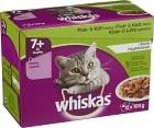 Whiskas 7+ Fisk/Kött i Gelé 12-pack
