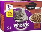 Whiskas Ragout Klassisk Meny 12-pack