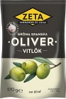 Zeta Gröna Oliver med Vitlök 170 g