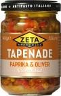 Zeta Tapenade Paprika & Oliver 140 g