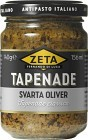 Zeta Tapenade Svarta Oliver 140 g