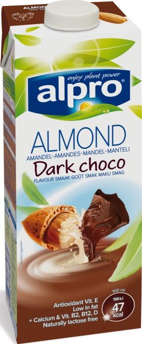 alpro soya choklad