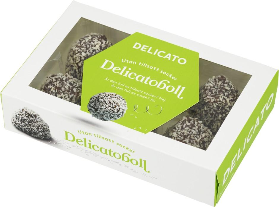 delicato chokladboll utan socker