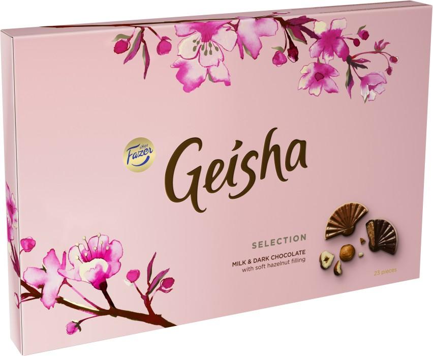 fazer geisha innehållsförteckning