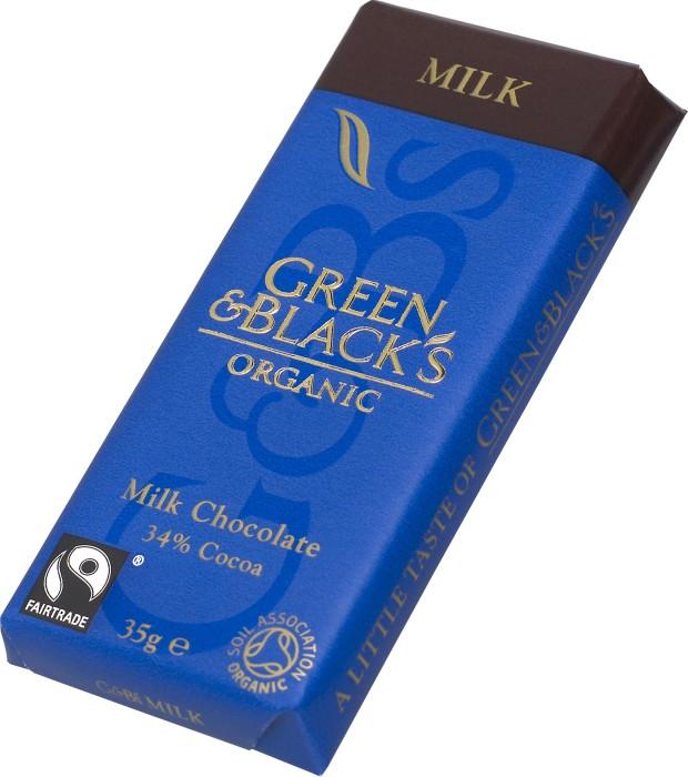 green and black choklad återförsäljare