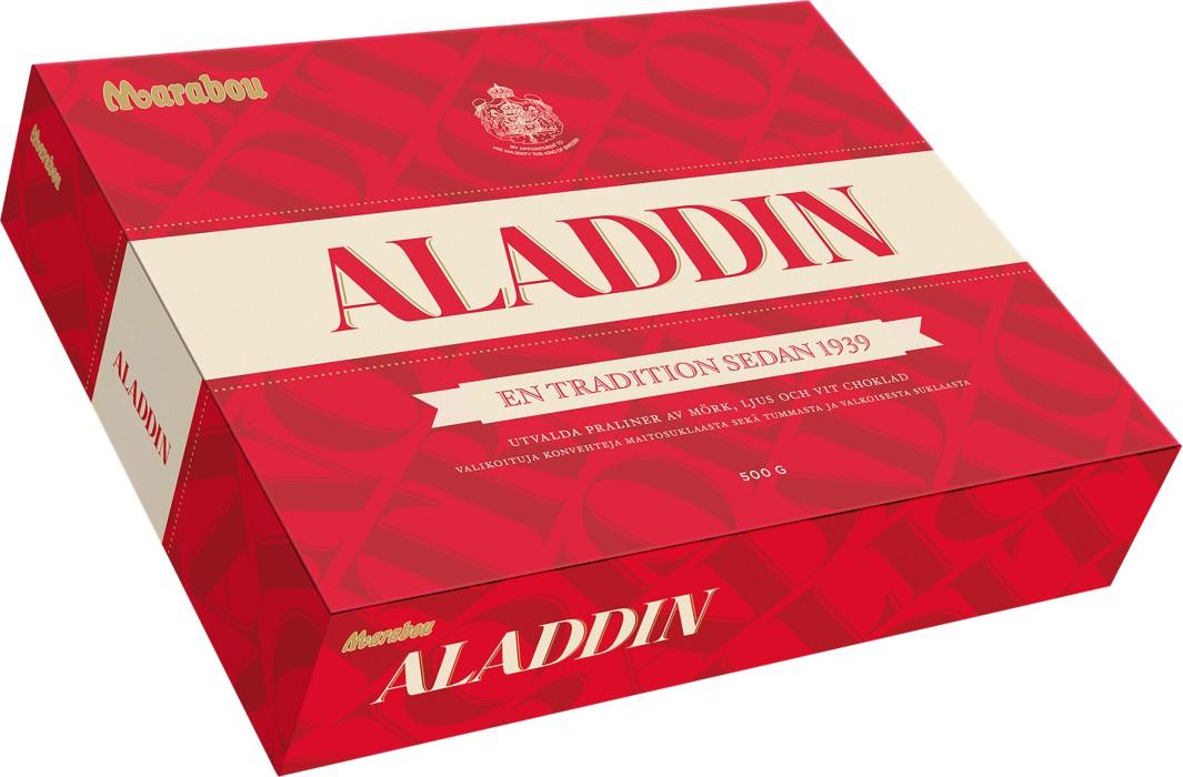 aladdin choklad pris