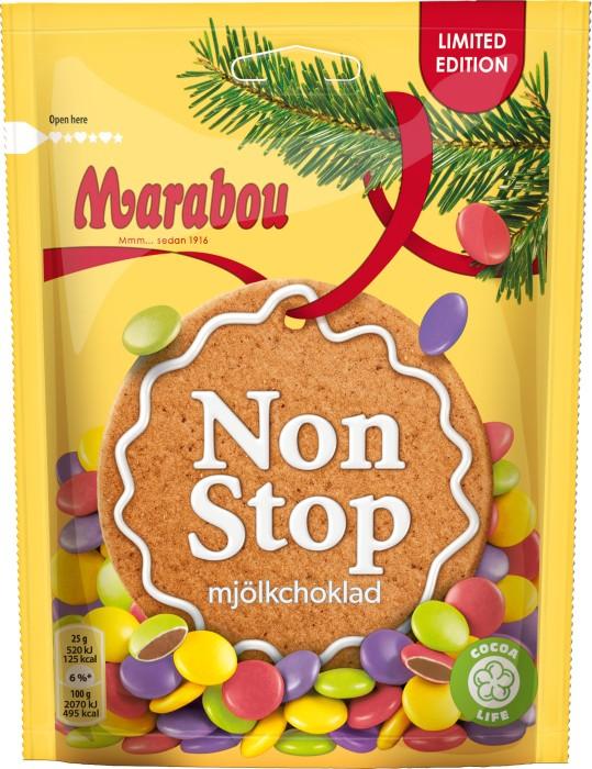marabou mjölkchoklad non stop