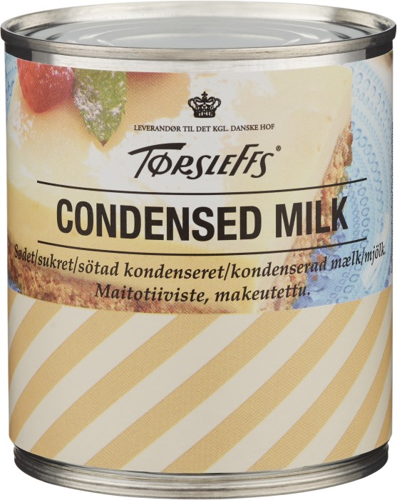 laktos i kondenserad mjölk